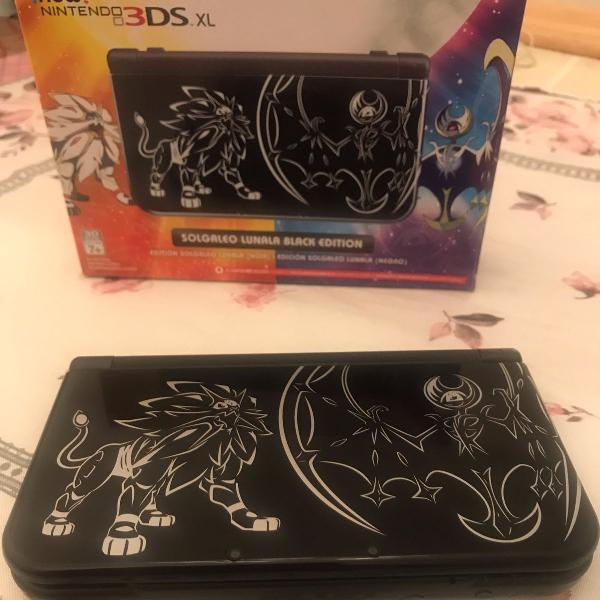 new 3ds xl - edição pokémon sun e moon