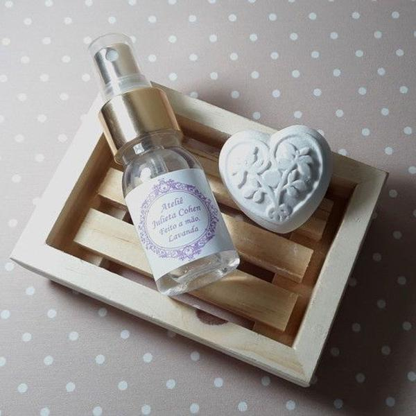 Pastilha de gesso aromático + renovador de aromas