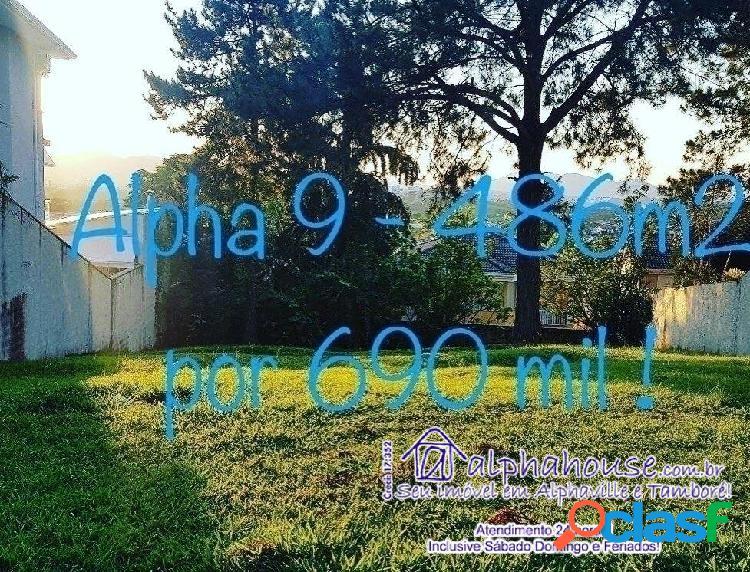 Terreno venda residencial 9 alphaville sp.
