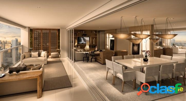 Apartamento de 189 m², 4 dormitórios e 3 vagas na chácara santo antônio