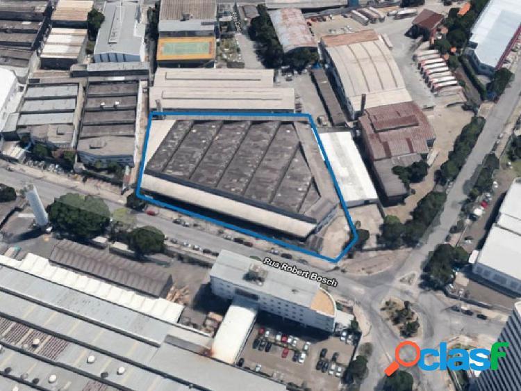 Imóvel comercial 4.971 m² - parque industrial tomas edson - leilão