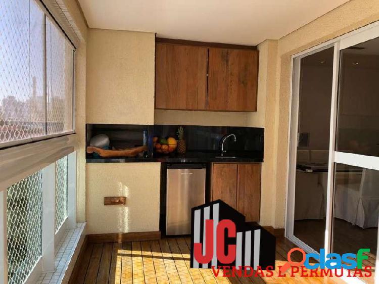 Vila gertrudes lindo apartamento ac/ permuta