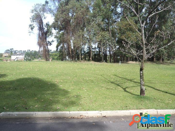 Terreno plano com 1.250m² à venda em Alphaville Barueri 2