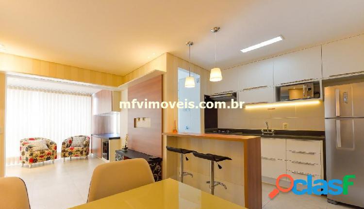 Apartamento mobiliado 2 quartos para aluguel na rua pais leme - pinheiros
