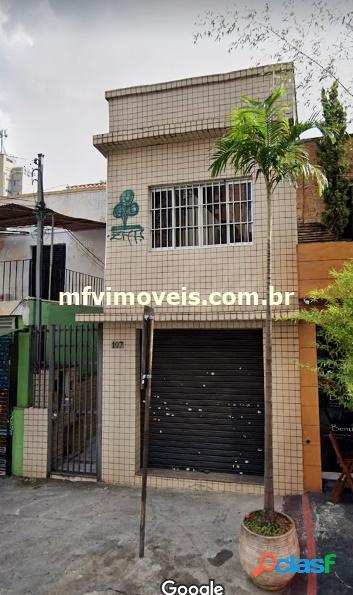 Casa comercial com 5 salas para alugar na rua deputado lacerda - pinheiros
