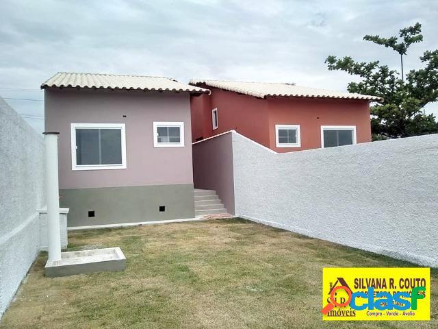 Casa 2 quartos(suíte) itaipuaçu - r$ 240 mil