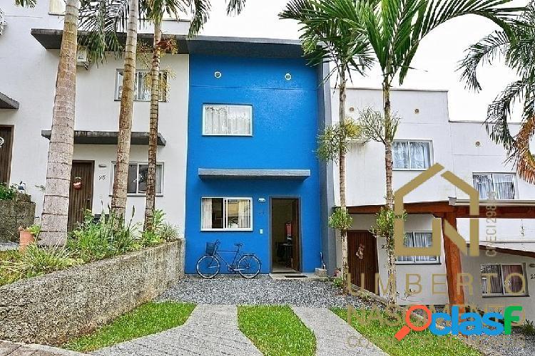 Casa geminada semi mobiliada a venda no bairro itoupava central blumenau sc