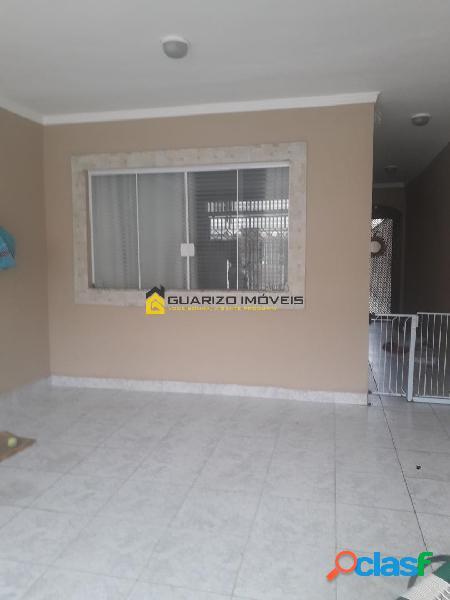 Sobrado à venda 3 quartos, (2) suites - centro sbc