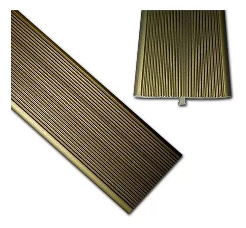 Acabamento de porta p/ piso laminado - perfil t metalico