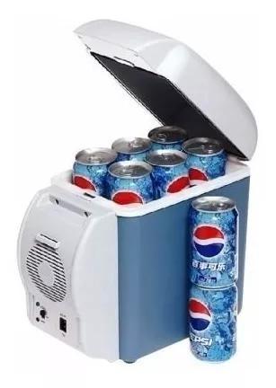 Mini geladeira portátil camping carro viag