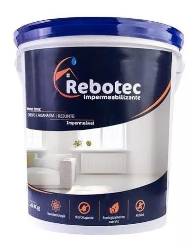 Rebotec impermeabilizante 4 / 4kg original distribuição sp