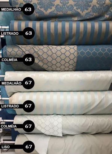 Tecido jacquard arabesco ou listrado 1 x 2.80m