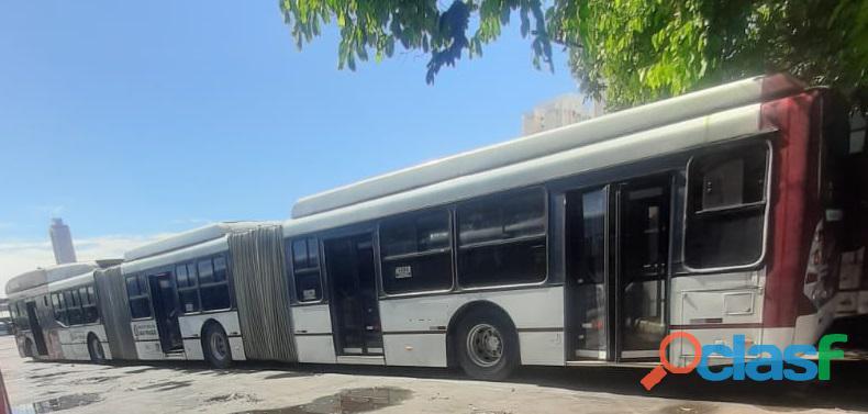 Ônibus Urbano Bi Articulado Volvo B12 Caio Top Buss Ano 2010 1