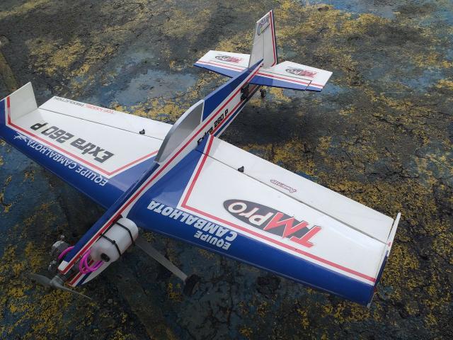 Aeromodelo extra 260 treinador 3d completo com motor os max