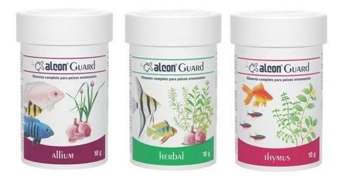Alcon guard kit ração para aquário - allium tymus herbal