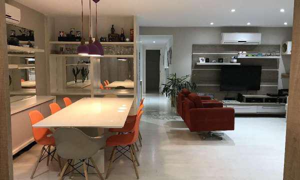 Apartamento para venda 3 quartos, sala ampliada barra da