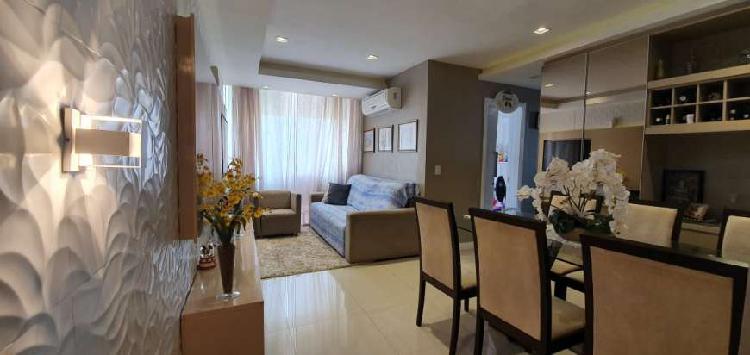 Apartamento para venda com 74 metros quadrados com 3 quartos