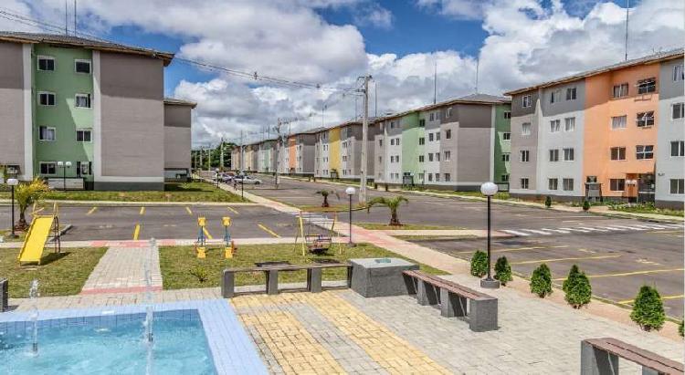 Apartamento, três dormitórios pronto para morar, colombo