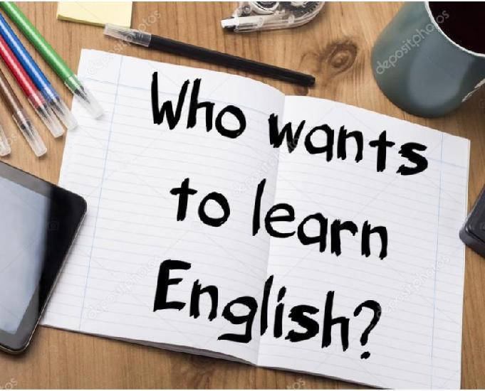Aulas particulares de inglês online 2020