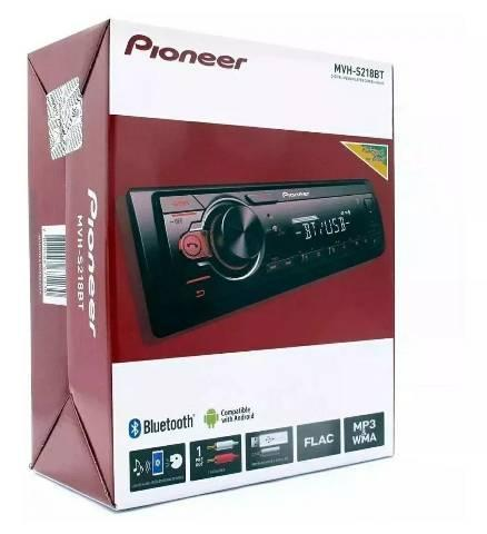 Auto rádio pioneer mvh-218bt bluetooth