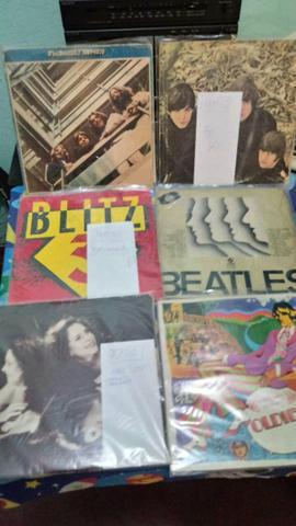 Beatles lp vinil, varios, disco original da epoca