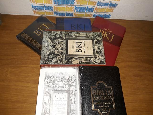 Biblias king james - (produtos lacrados)