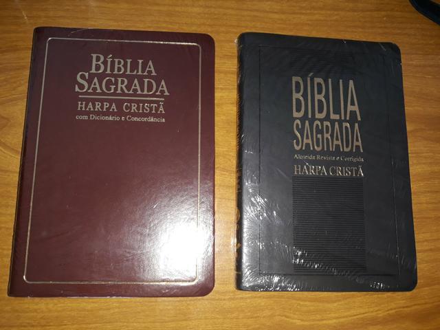 Biblias com harpa cpad, promoção