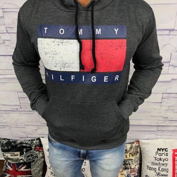 Blusa de frio tommy hilfiger - chumbo