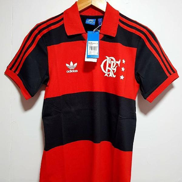 Camisa adidas flamengo retrô zico, unissex original.