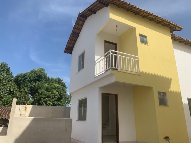 Casa 2 quartos com quintal - laranjal - são gonçalo/rj