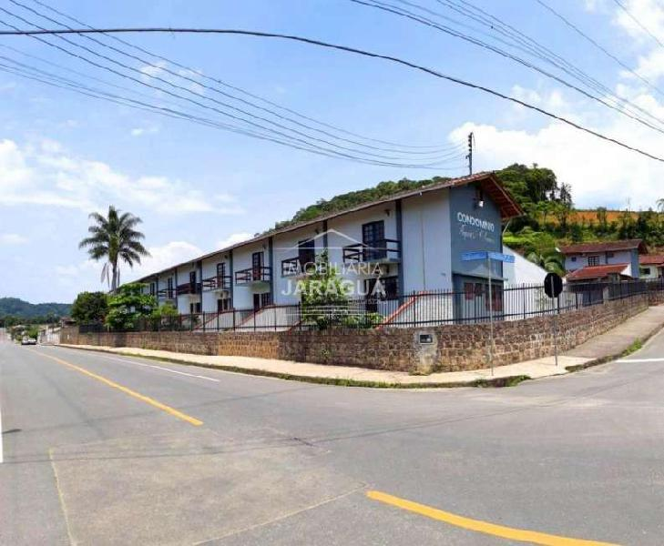Casa geminada à venda, 2 quartos, 1 vaga, três rios do sul