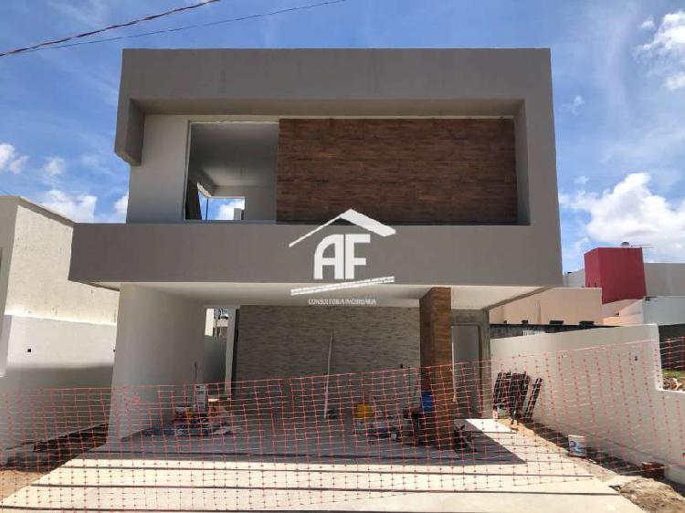 Casa em construção no condomínio jardim américa