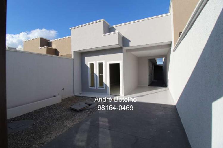 Casa para venda com 86 m² com 2q e suíte em bairro das