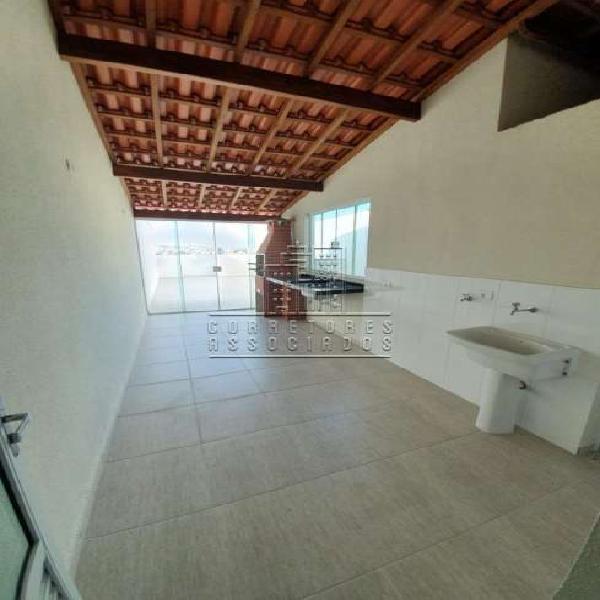 Excelente cobertura sem condomínio 54+54m² 2 dormitórios