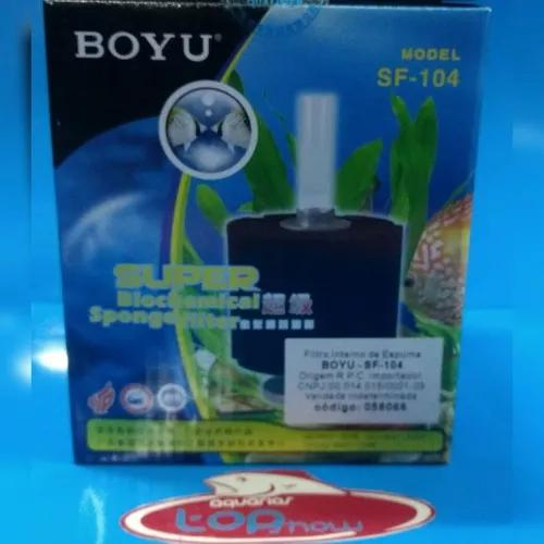 Filtro interno de espuma boyu sf-104 para aquarios