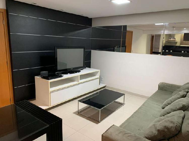 Flat 57 m², mobiliado, ao lado do shopping flamboyant