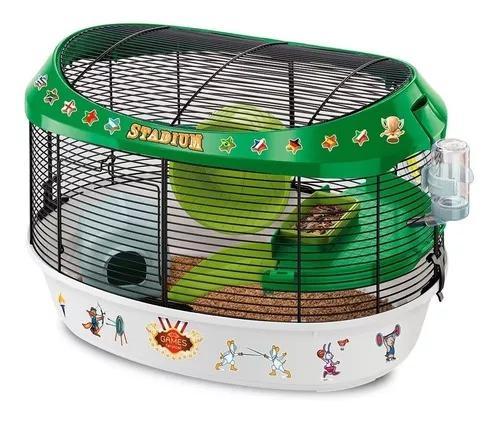 Gaiola grande para roedores stadium da ferplast acessorios