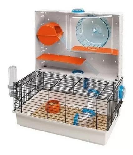 Gaiola olimpia da ferplast para roedores hamster acessorios