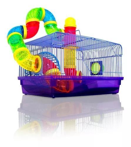Gaiola para hamster labirinto mod 13 - médio
