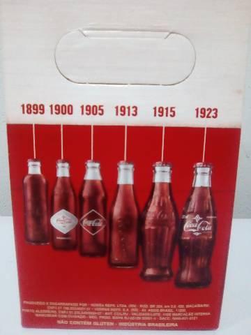 Garrafas retrô coca cola