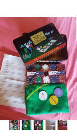 Kit conjunto jogo poker
