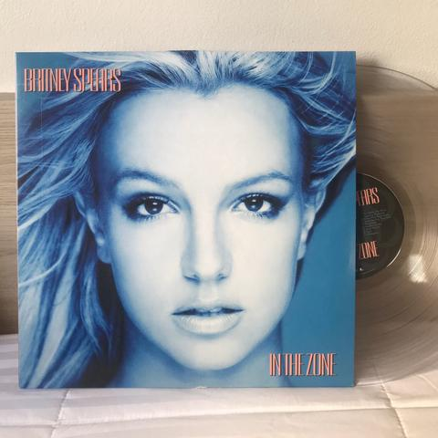 Lp britney spears in the zone vinil clear urban outfitters