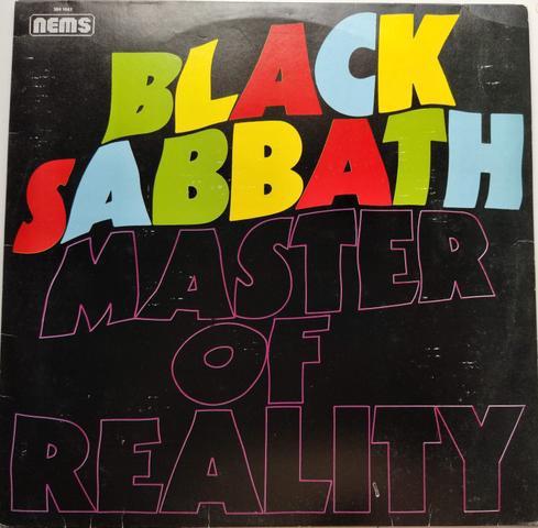 Lp vinyl 1971. master of reality - black sabbath em boas