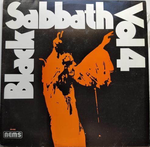 Lp vinyl 1972. vol. 4 - black sabbath em boas condições