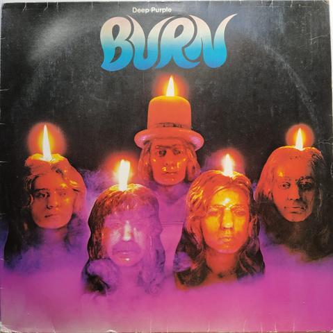 Lp vinyl 1974. burn - deep purple em boas condições