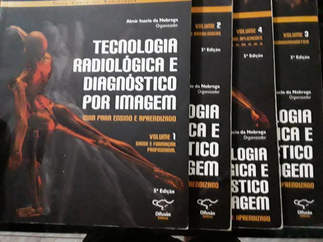 Livro de radiologia em 4 volumes