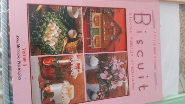 Livros de biscuit novo