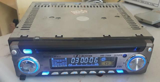Pacotão 8 rádios de carro com cd auxiliar e alguns com