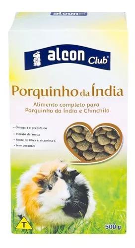 Ração alcon club porquinho da ìndia 500g