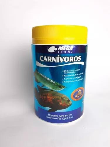Ração mega food carnivoros 300g c/ alho jumbos e